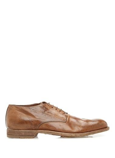 Officine Creative %100 Deri Bağcıklı Klasik Ayakkabı Taba